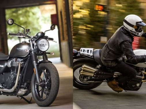 Triumph Welcomes the New Street Twin and Street Scrambler to India