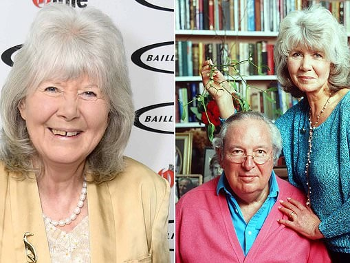 Jilly Cooper reveals she's never cried over her husband's death