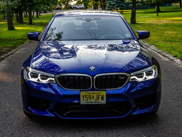 BMW recalls 1,600 model-year 2018 BMW M5 sedans