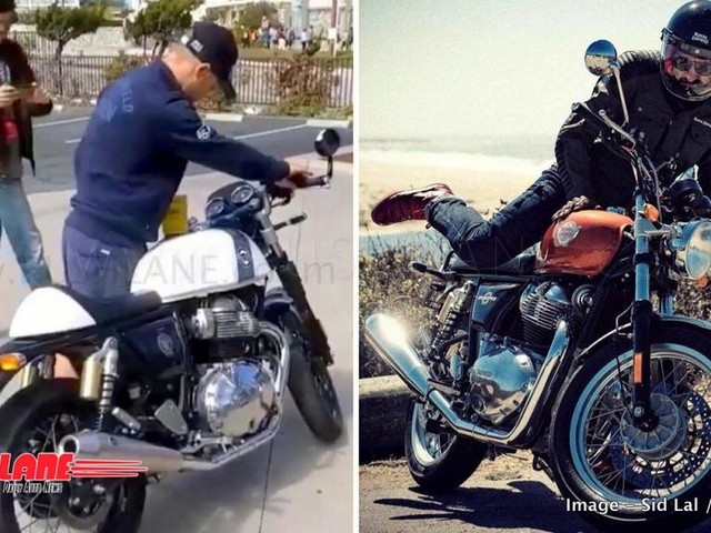 New Royal Enfield 650 revs up to a thundering exhaust note – Video