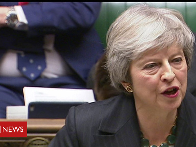 Brexit: May updates MPs after cabinet resignations
