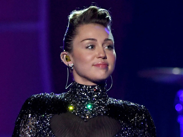 Miley Cyrus Sparkles on Stage at iHeartRadio Music Festival