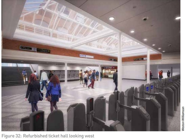 London Underground shows off South Kensington tube station upgrade plans