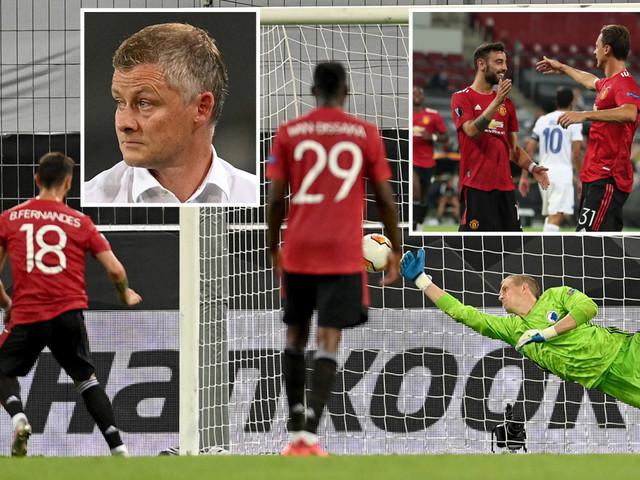 Man Utd 1 FC Copenhagen 0: Europa League specialist Fernandes hits extra-time penalty winner for Solskjaer's jaded men
