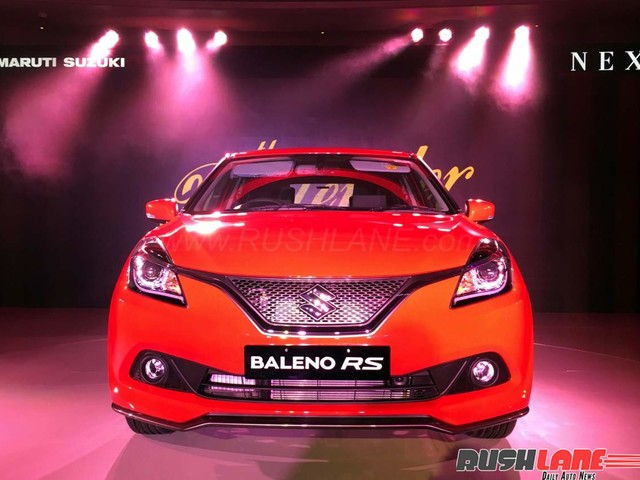 Maruti Baleno RS shows its strength after it turns upside down