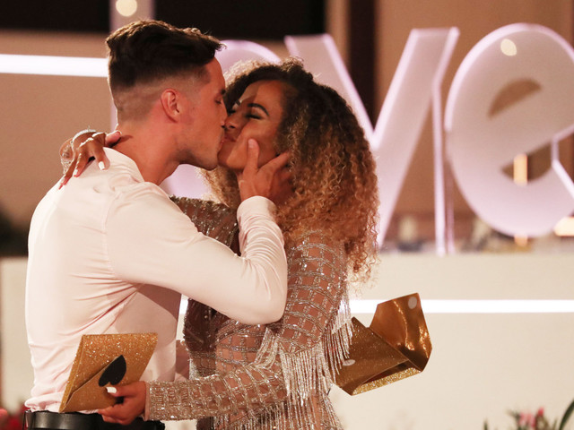 Greg and Amber tipped to get engaged this year after whirlwind romance scoops them £50k Love Island prize money