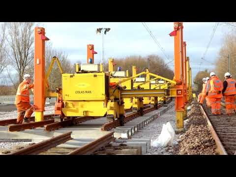 New tracks for temporary Metro depot in North Tyneside