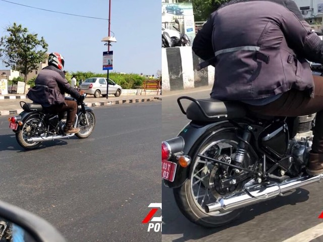 Updated Royal Enfield Classic Spied Testing Ahead Of Launch
