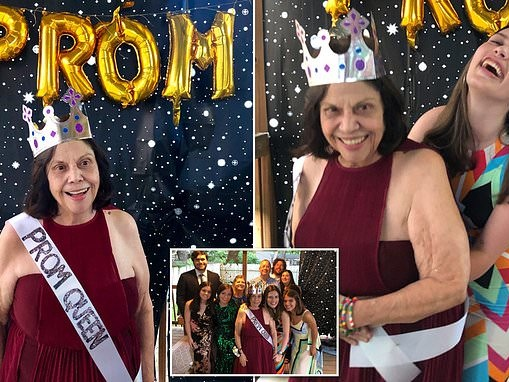 Granddaughter throws prom for 75-year-old grandma with Alzheimer's