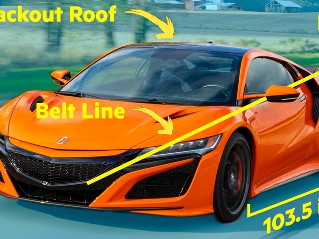 A supercar designer dissects the design of the Acura NSX