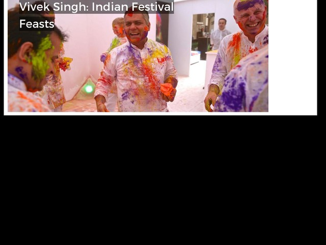 Vivek Singh: Indian Festival Feasts