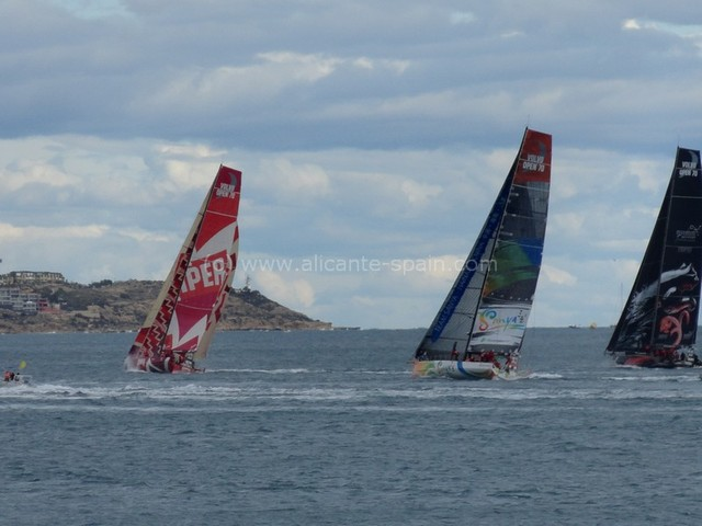 Volvo Ocean Race – Alicante 2012 Pictures