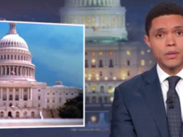 Trevor Noah Rips Congress Over 'Pathetic' Government Shutdown Deal