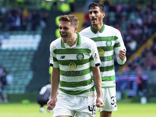 Celtic 2-1Dunfermline: Forrest strikes in extra-time asLennon's men reach last eight of League Cup