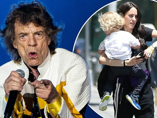 Mick Jagger, 75, is in command of those 'snake hips' on tour