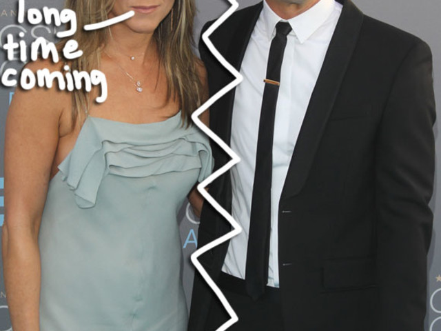 Jennifer Aniston & Justin Theroux Were Having 'Intense Issues For Eight Months' Before Separation!