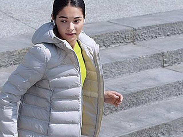 This Uniqlo jacket is warm, lightweight, and can roll up to fit in my pocket — and it's surprisingly only $70