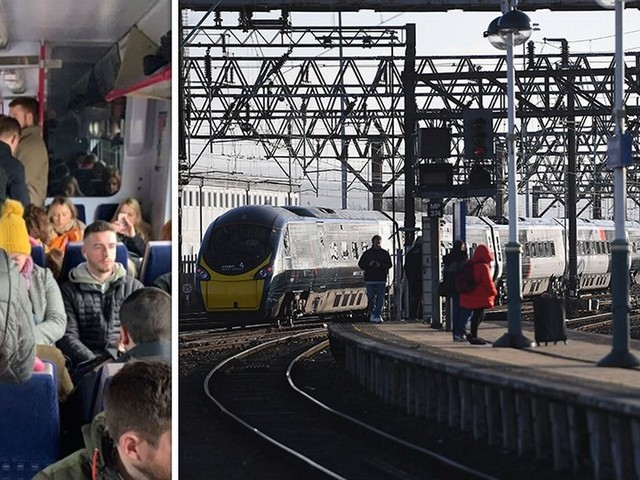 People trapped on broken down train for two-and-half-hours '150 metres' from Manchester Piccadilly after it loses power