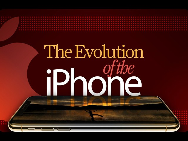 The evolution of Apple's iPhone