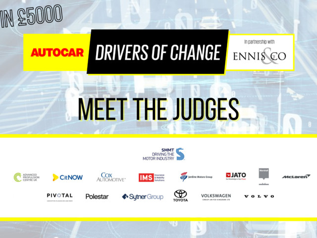 Drivers of Change 2021: meet the judges