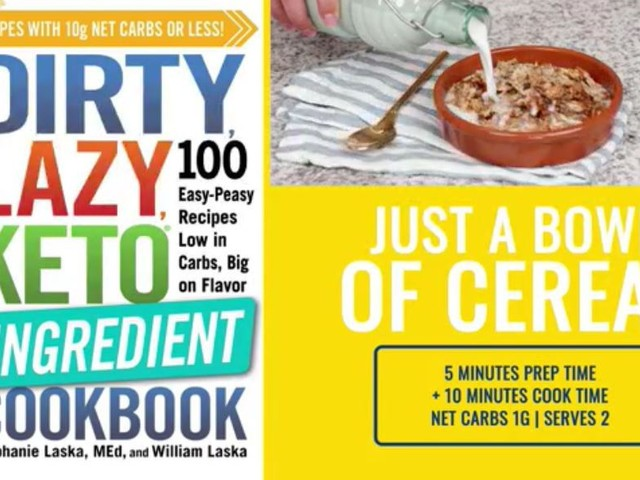 Keto-Friendly Cereal Recipe To Start Your Day From 'Dirty, Lazy Keto'