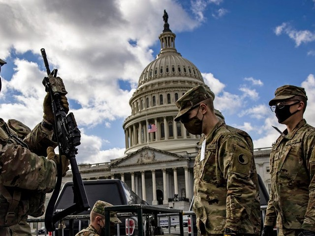 National Guard protection at the US Capitol cost taxpayers nearly $500 million