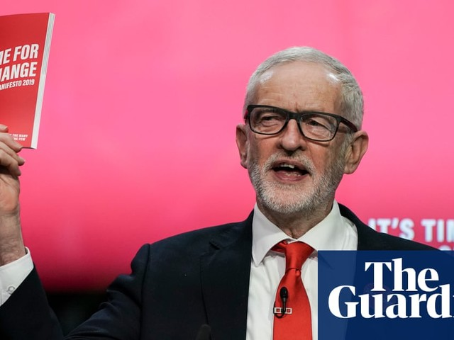 Jeremy Corbyn urges public to vote for 'manifesto of hope'