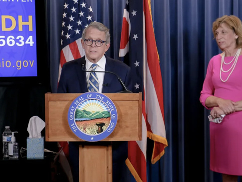 Ohio Gov Tests Positive For COVID-19 Before Greeting Trump: Live Updates