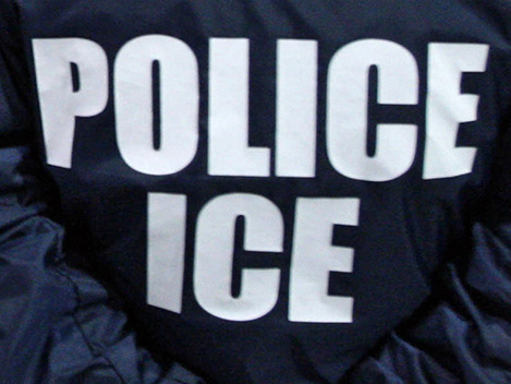 "Homemade Signs Urge U.S. Citizens To Report ""Illegal Aliens"" To ICE"
