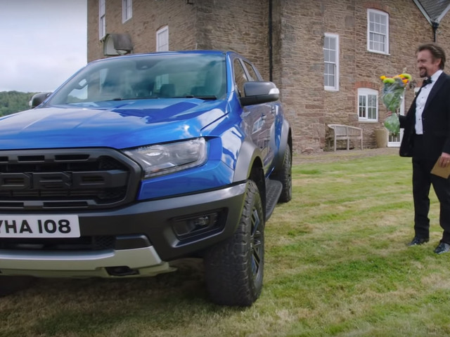 Richard Hammond Will Take The Ranger Raptor Anywhere – Including A Dinner Party