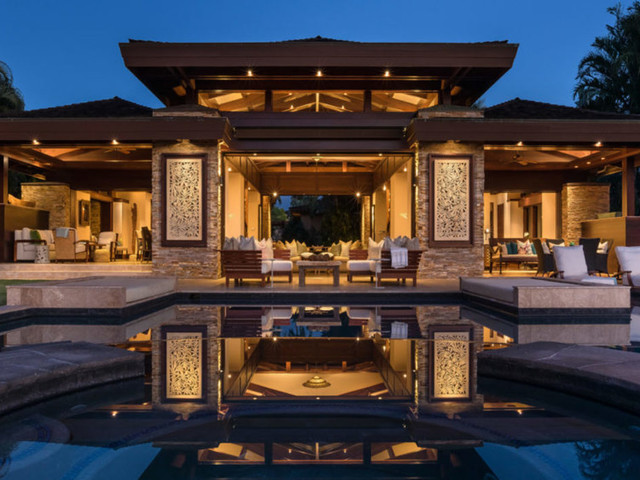 GoDaddy founder selling exotic Hawaii estate designed by Cher for $11 million. See inside