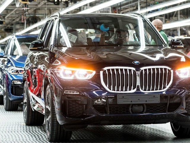 BMW USA Vehicle Production Hit Record High for 2019