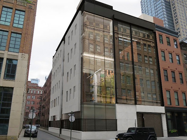 'Fortress-like' Tribeca townhouse plan blasted as a 'disaster and an affront'