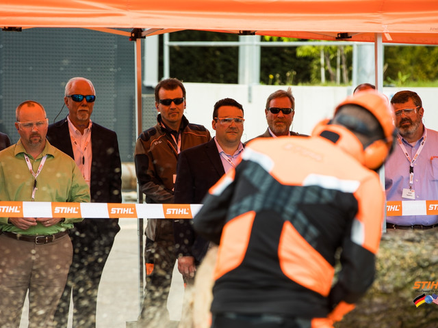 STIHL welcomes US distributors as guests at the company -<br />Jump in unit sales of cordless products