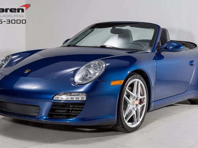2009 Porsche 911--Carrera--S--Cabriolet