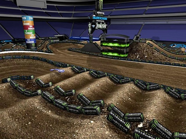 2019 Minneapolis Supercross | Track Map