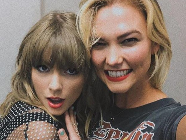 Karlie Kloss Gushes Over Taylor Swift and Proves There's No Bad Blood