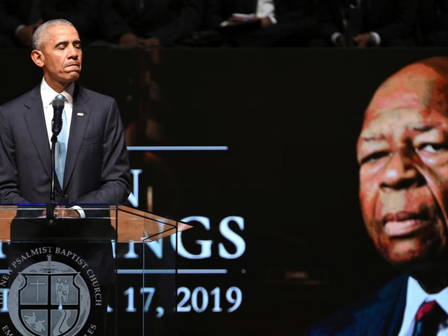 Watch former President Barack Obama deliver a moving eulogy for the late Rep. Elijah Cummings: 'There's nothing weak about being honorable'