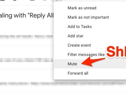How to mute endless Gmail threads so you're not stuck in a 'reply all' hell