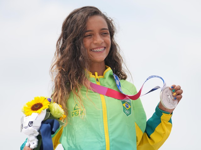 At 7, Rayssa Leal Went Viral For Skateboarding In A Fairy Princess Dress. At 13, She Won An Olympic Medal