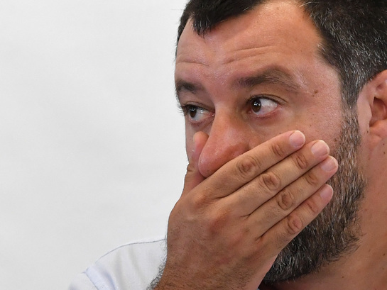 Opponents Of Italy's Salvini Accuse Him Of Being 'Puppet Of Putin'