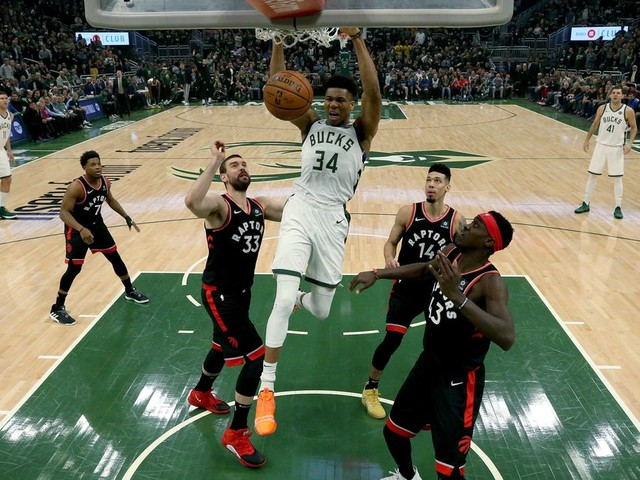 Giannis is taking over the NBA, one playoff game at a time