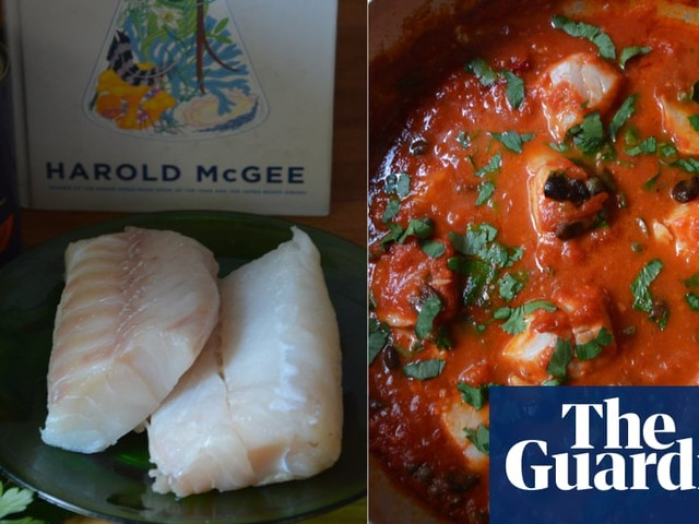 Rachel Roddy's recipe for cod with tomatoes and capers | A kitchen in Rome