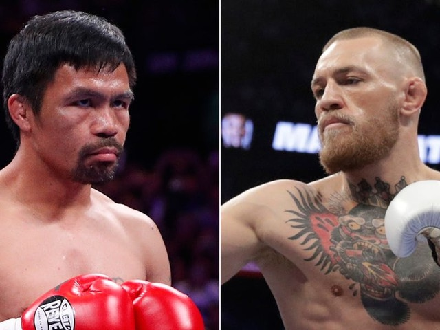 Conor McGregor would get 'knocked out pretty quick' by Manny Pacquiao, the boxer's former promoter says