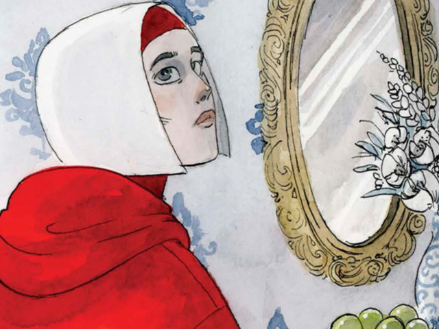 An Exclusive Look at the Gorgeous, Haunting Graphic Novel Adaptation of The Handmaid's Tale
