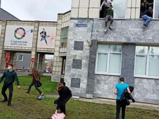 Gunman Kills At Least 6 At Russian University - Terrified Students & Faculty JumpedFrom Buildings