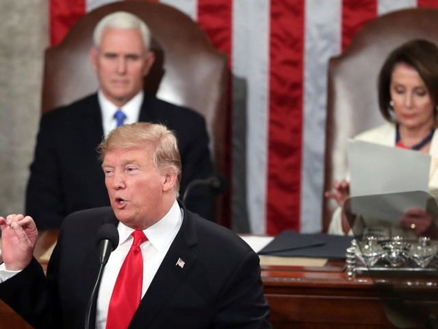 Trump took a veiled jab at the investigations into him during his State of the Union address — and some are drawing a Nixon parallel