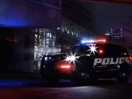2020 Ford Explorer Hybrid Shown In Police Car Guise