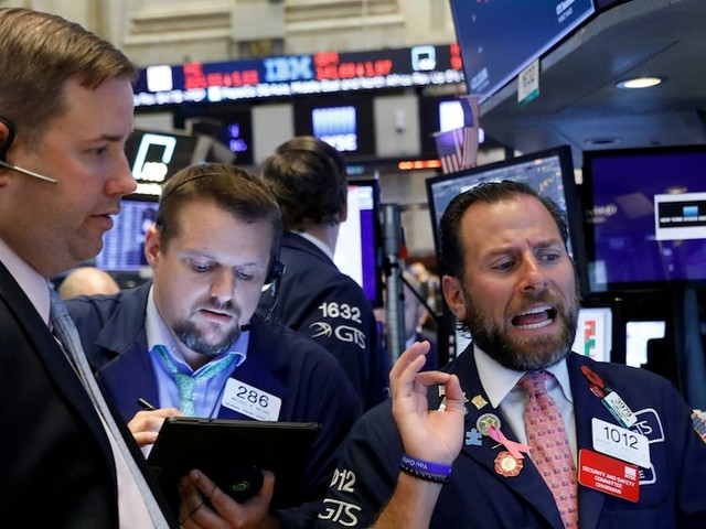 Stocks tumble as trade tensions flare days before high-level talks