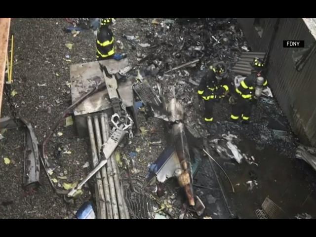 New York chopper crash: Pilot's rating questioned amid questions over flight rules